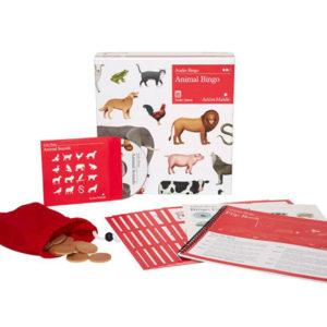 Example Bingo Set of Animals2