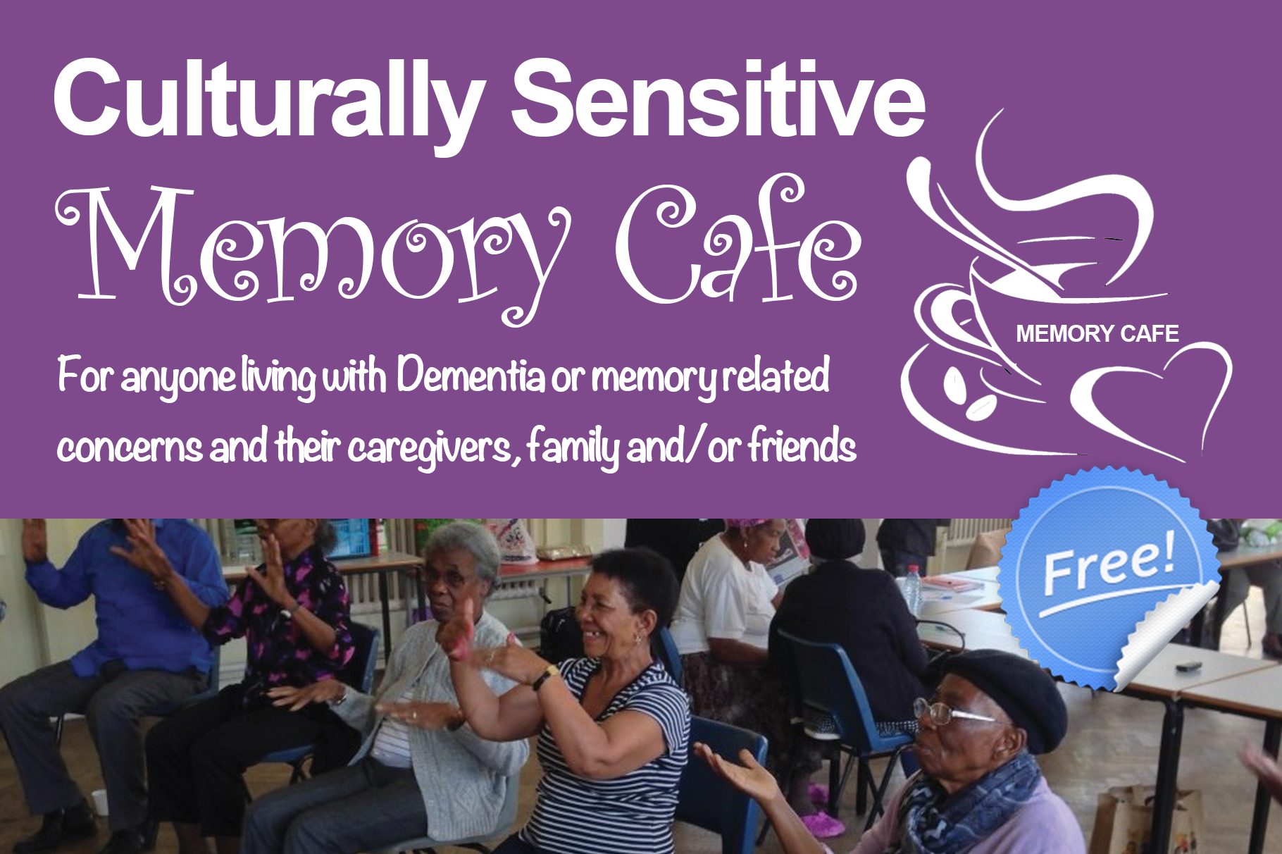 Start a Culturally Sensitive Memory Cafe